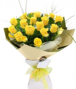 20 Diorella Yellow Roses