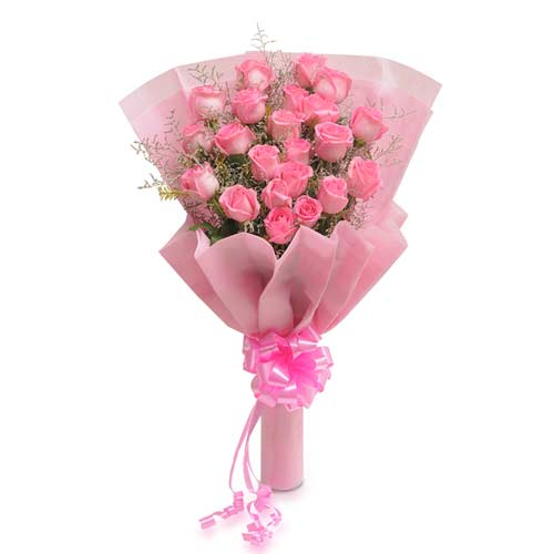 Pretty 20 Pink Roses
