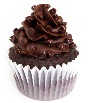 Tripple Chocolate 6 Cupcake