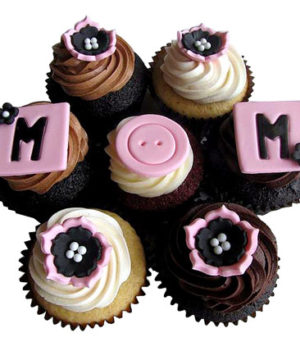 6 Cupcakes For Mom
