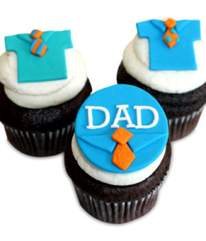 Fathers Day Special 6 Cupcakes